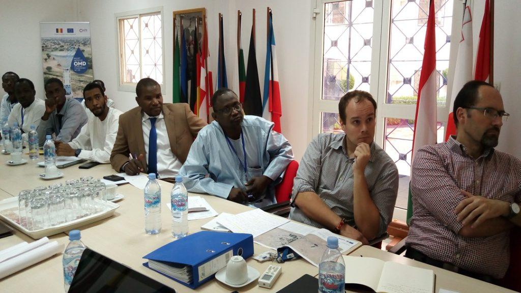 Tchad : 2019 Atelier de restitution provisoire de la mission terrain avec la DUE et les autorités