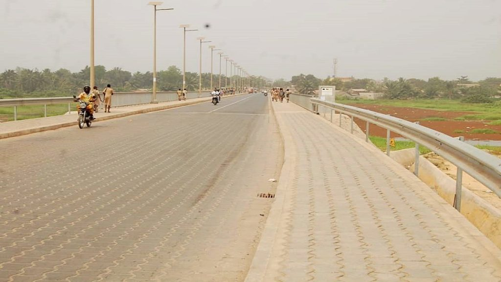 BENIN, 2016 : Conception et dimensionnement du Pont de Womey