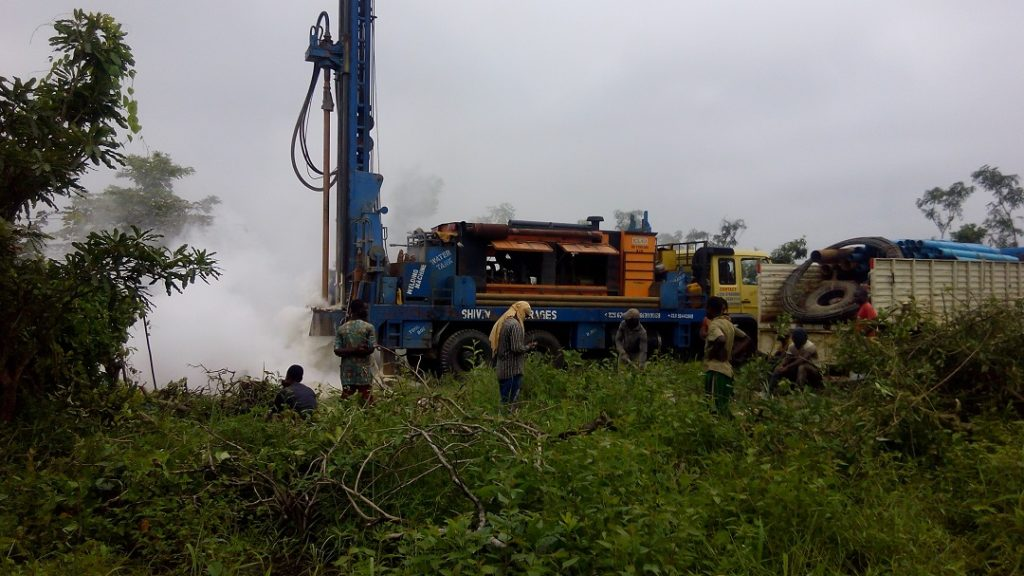 BENIN, 2011-2012: Travaux de Forage