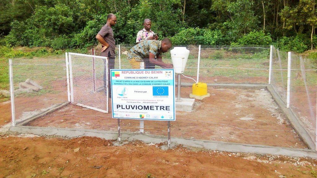 BENIN, 2018: Relevé périodique de la pluviométrie